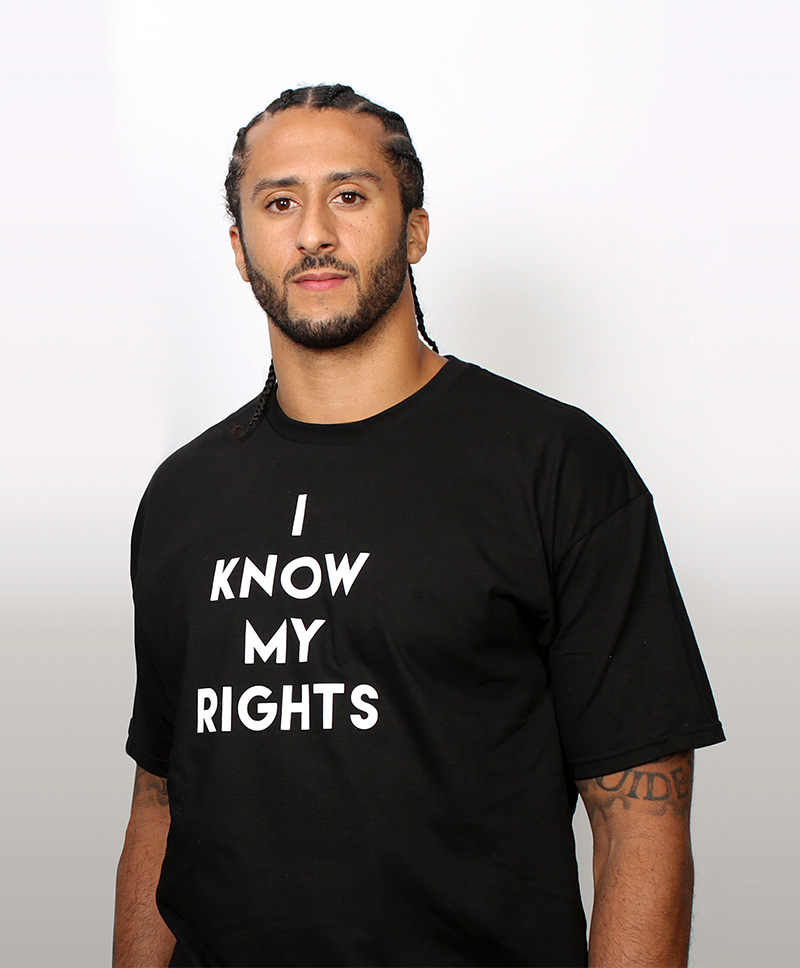 Partnering with Colin Kaepernick's Know Your Rights Camp to Take on Racism