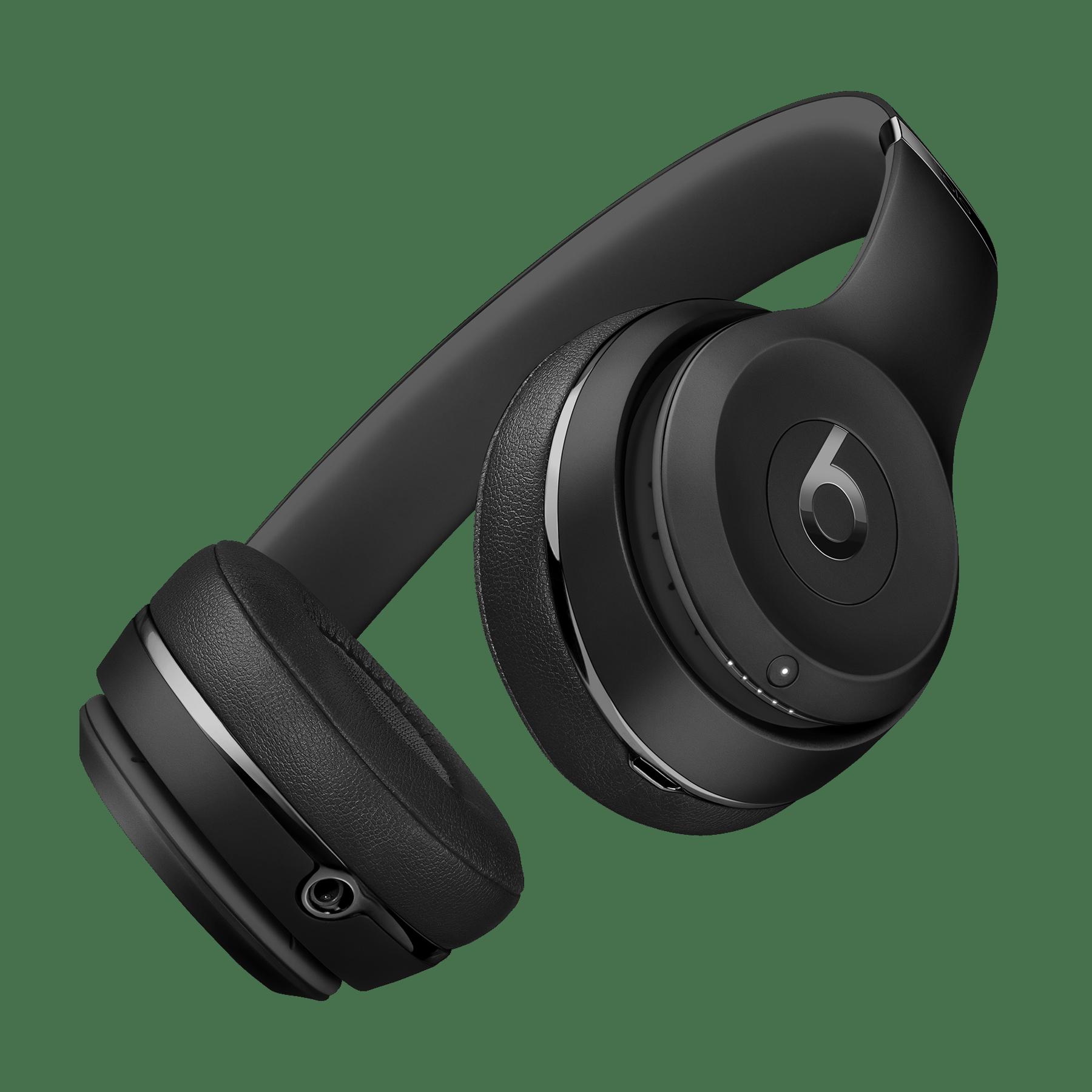 Beats wireless headphones matt black - headphones beats black
