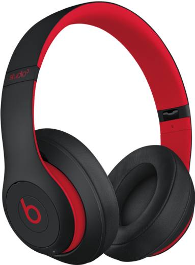 Auriculares cerrados Beats Studio3 Wireless - The Beats Decade Collection - Rojo y negro