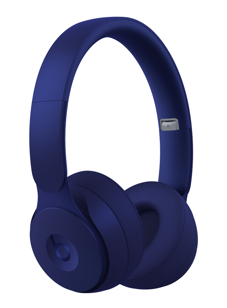 blue headpones