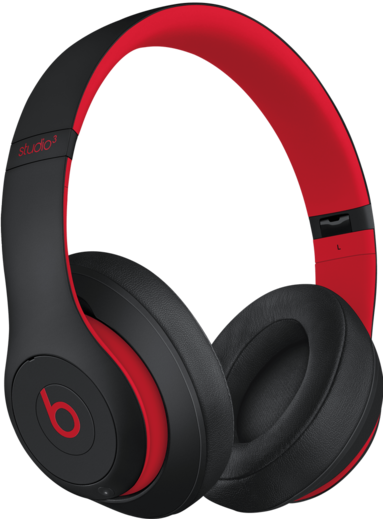 Studio 3 Headphones in Defiant Black-Red