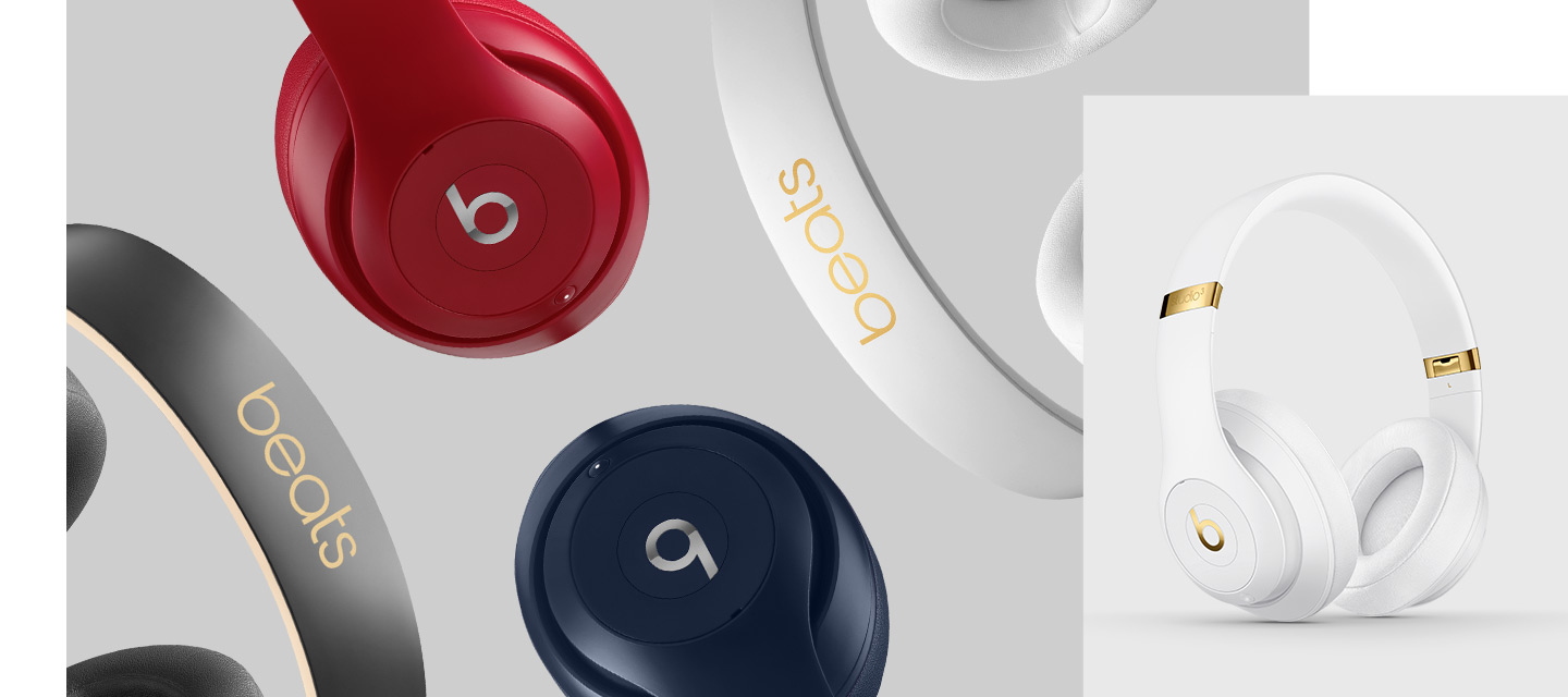 Floating Studio3 Wireless Headphones in all colors